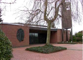 Kapelle auf dem Friedhof an der Gladbecker Straße