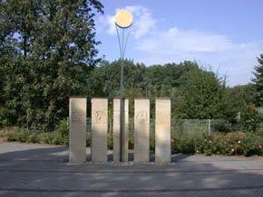Steele des  Antonius Dorfriedhof Dorsten-Holsterhausen
