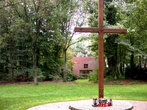Kreuz auf dem Friedhof Dorsten Wulfen Barkenberg